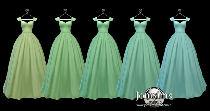 Lediane Dress at Jomsims Creations image 2372 670x355 Sims 4 Updates