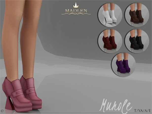 Madlen Murole Shoes by MJ95 at TSR image 2410 Sims 4 Updates