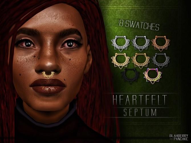 Heartffit septum at Blahberry Pancake image 2412 670x503 Sims 4 Updates