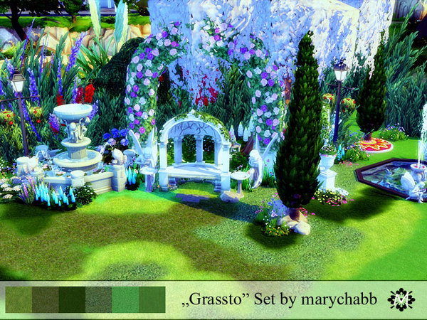 Grassto Set Terrain by marychabb at TSR image 244 Sims 4 Updates