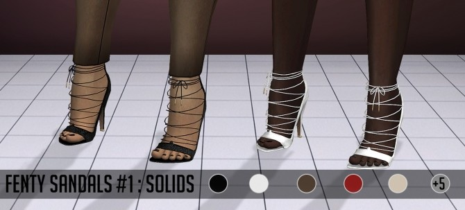 F Sandals #1 at Vittler Universe image 2452 670x303 Sims 4 Updates