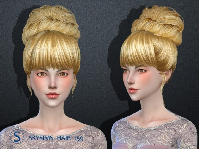 Hair 159 by Skysims at Butterfly Sims image 2471 670x503 Sims 4 Updates