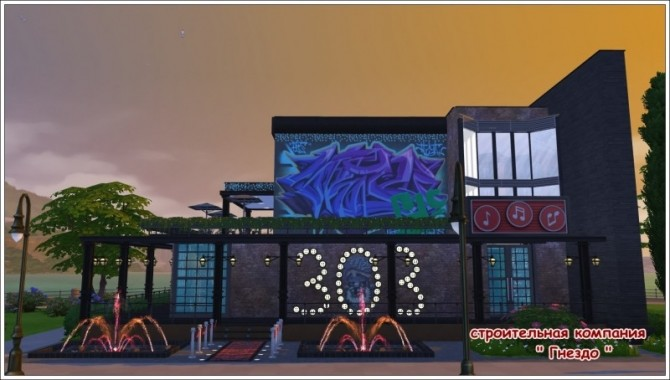 303 Karaoke bar at Sims by Mulena » Sims 4 Updates