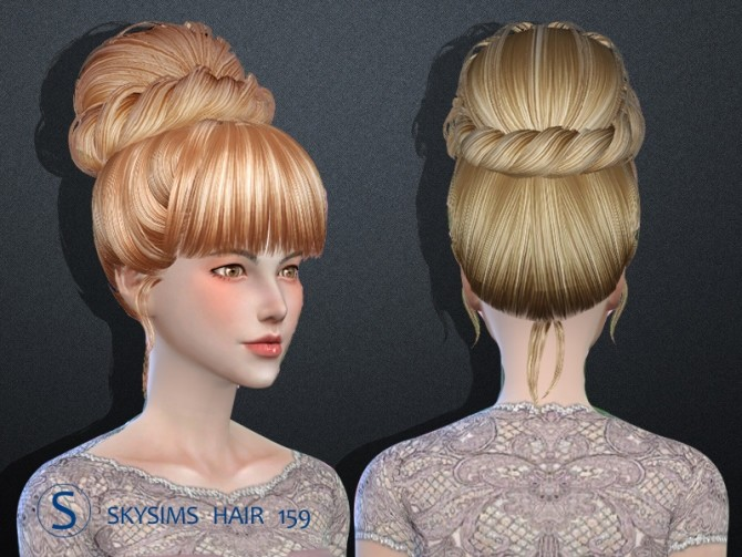 Sims 4 Hair 159 by Skysims at Butterfly Sims