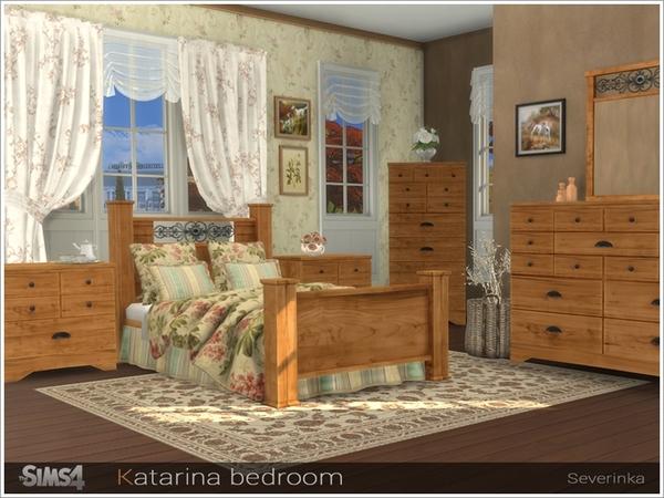 Katarina bedroom by Severinka at TSR image 2510 Sims 4 Updates