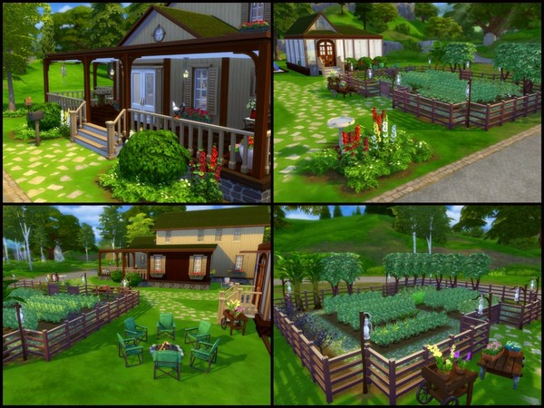 Planters Farm by sparky at TSR image 2513 Sims 4 Updates