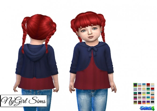 Shirt with Hooded Cardigan at NyGirl Sims image 2527 670x473 Sims 4 Updates