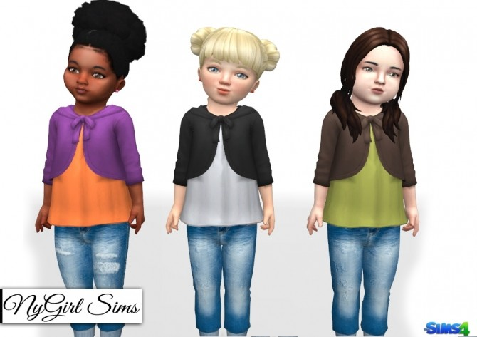 Shirt with Hooded Cardigan at NyGirl Sims image 2543 670x473 Sims 4 Updates
