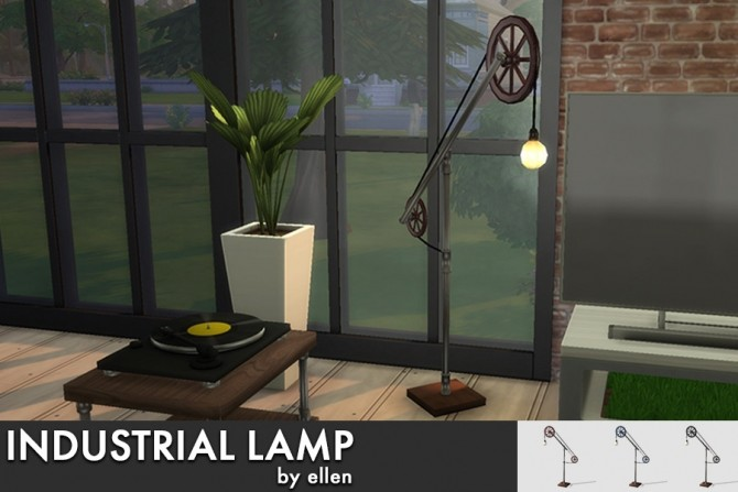 Industrial Lamp at Simobjects by Ellen image 2552 670x447 Sims 4 Updates