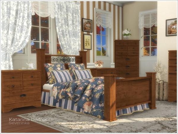 Katarina bedroom by Severinka at TSR image 2610 Sims 4 Updates