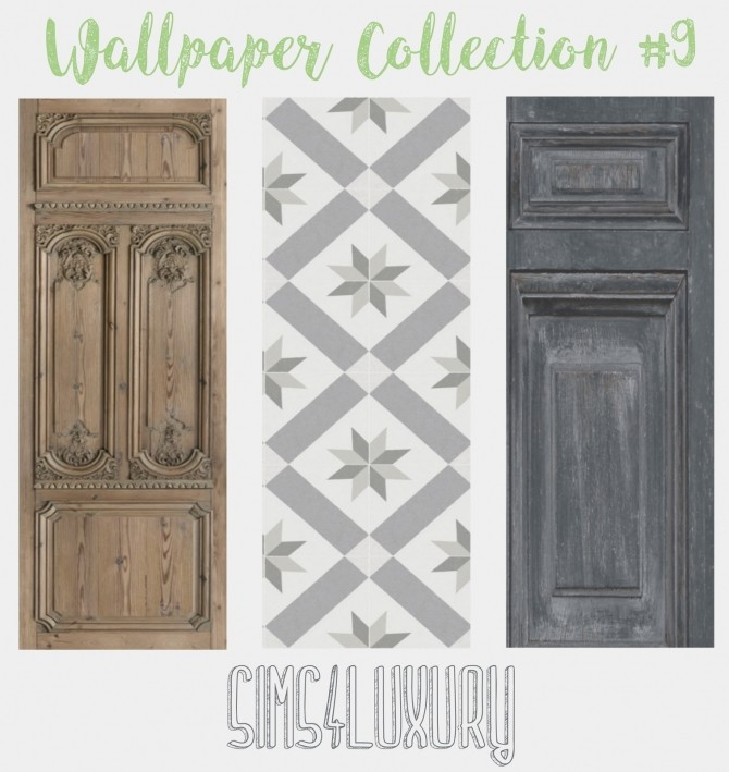Wallpaper Collection #9 at Sims4 Luxury image 2612 670x709 Sims 4 Updates