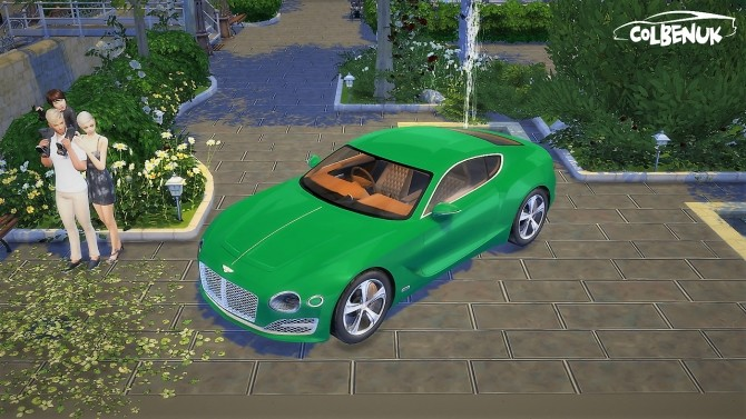 Sims 4 Bentley EXP10 Speed 6 Concept at LorySims