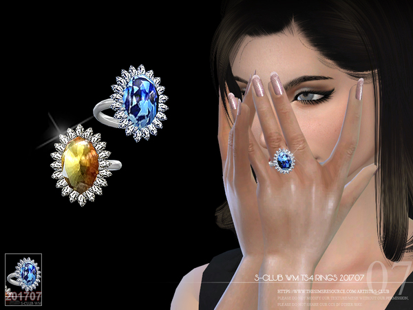 Rings 201707 By S Club Wm At Tsr 187 Sims 4 Updates