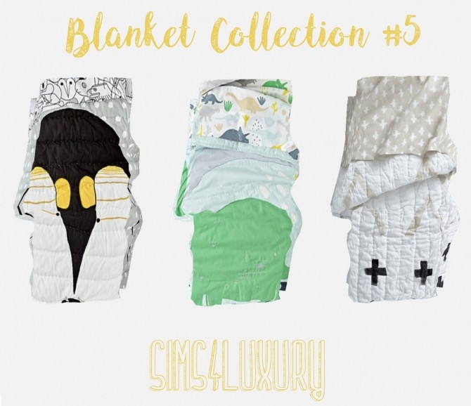 Sims 4 Blanket Collection #5 at Sims4 Luxury