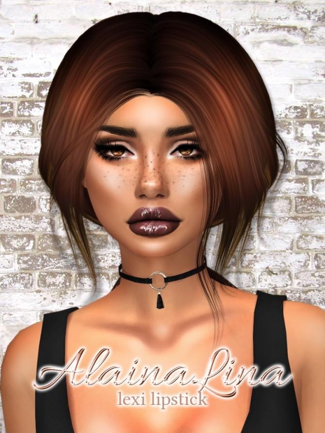 Lexi Lipstick at AlainaLina image 2671 670x893 Sims 4 Updates
