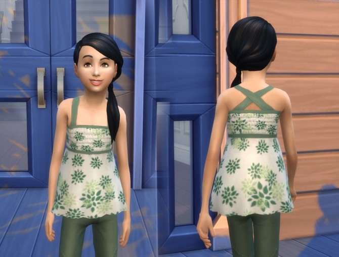 Sims 4 Scalloped Top at My Stuff