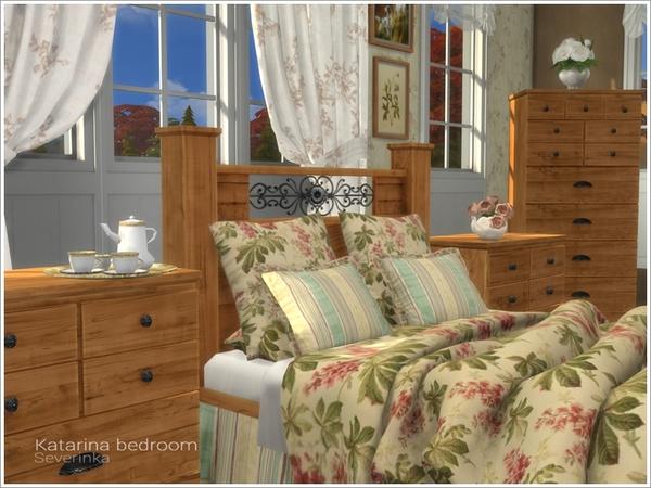Katarina bedroom by Severinka at TSR image 2710 Sims 4 Updates