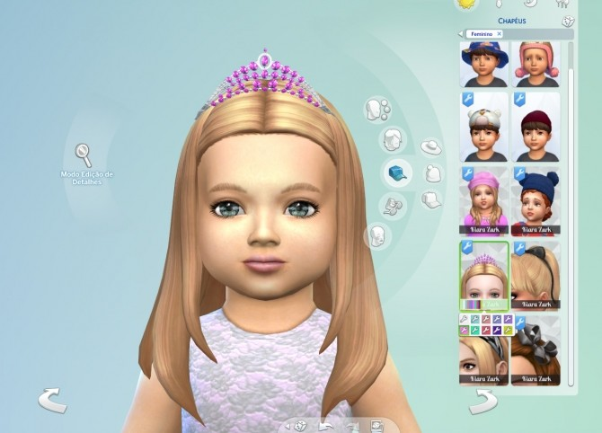 Sims 4 Sparkling Tiara for Toddlers at My Stuff