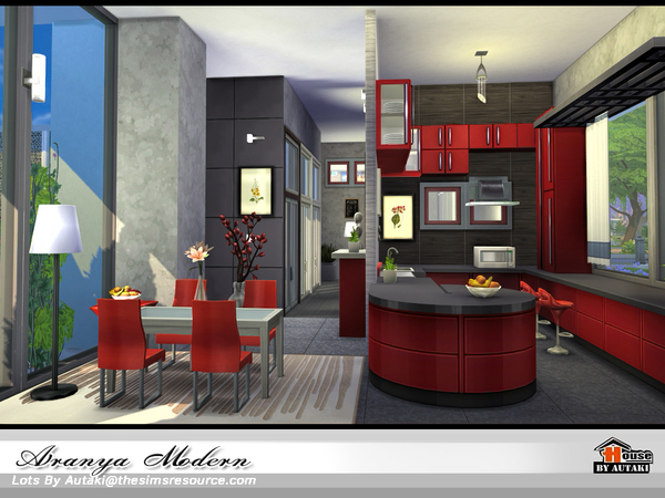 Aranya modern home by autaki at TSR image 2818 Sims 4 Updates