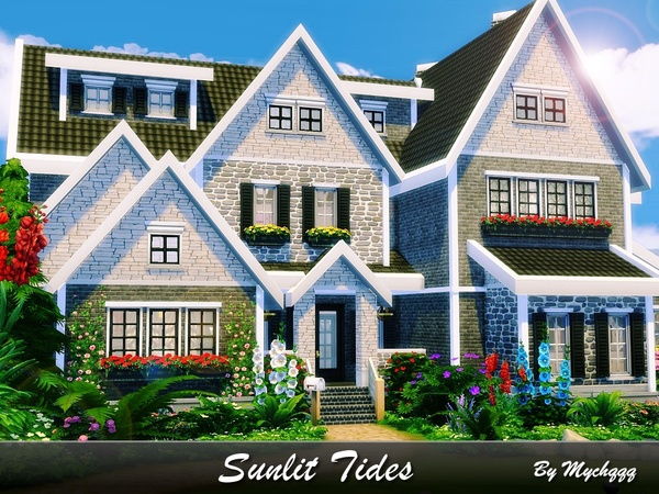 Sunlit Tides house by MychQQQ at TSR image 2831 Sims 4 Updates