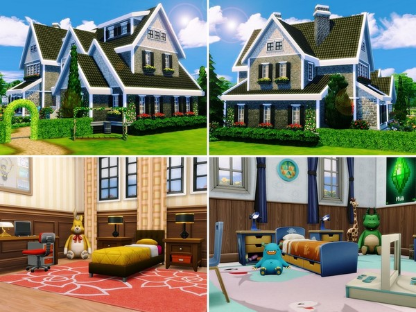 Sunlit Tides house by MychQQQ at TSR image 294 Sims 4 Updates