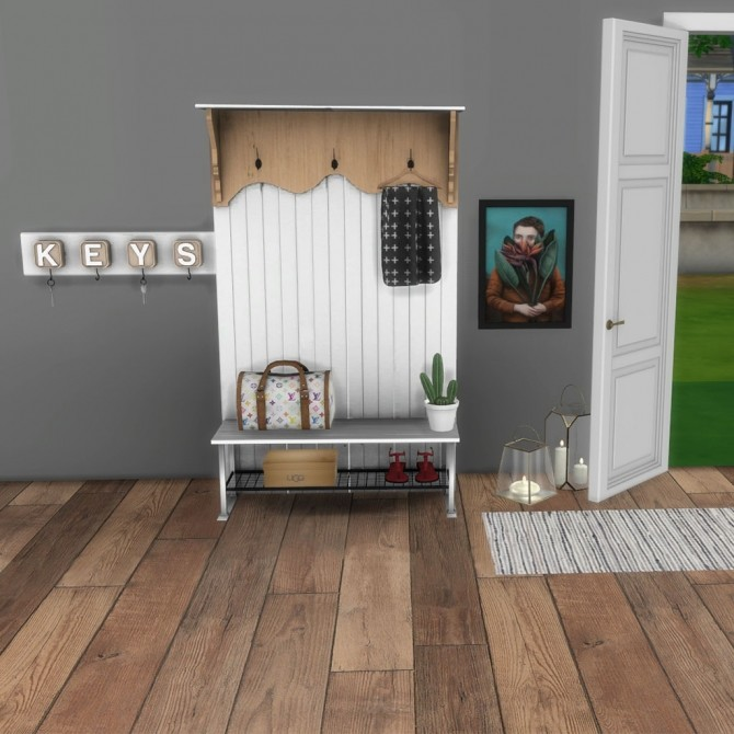 Mudo Hall Cabinet at Leo Sims image 297 670x670 Sims 4 Updates