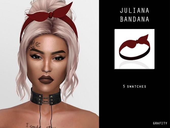 JULIANA BANDANA at Arthurlumierecc – AL image 299 670x503 Sims 4 Updates