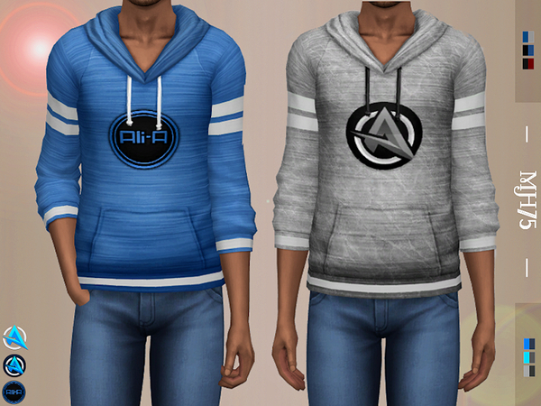 Logo Sweaters by Margeh 75 at TSR image 3010 Sims 4 Updates