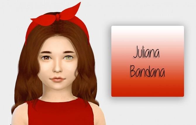 Juliana Bandana Kids Version at Simiracle image 3011 670x427 Sims 4 Updates