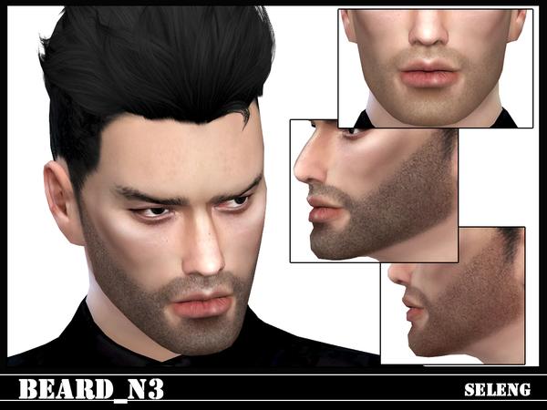 Sims 4 Beard N3 by Seleng at TSR