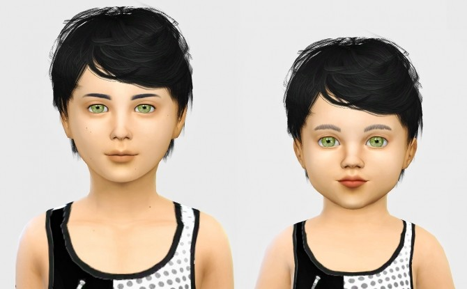 Sims 4 Simpliciaty Julian hair edit at Simiracle