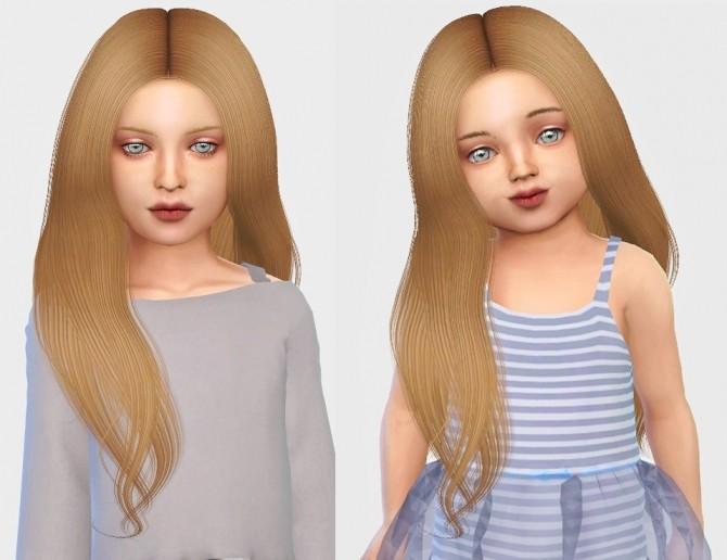 Sims 4 Simpliciaty Naya hair kids&toddlers at Simiracle