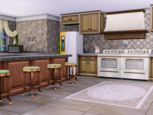 Sunlit Tides house by MychQQQ at TSR image 317 Sims 4 Updates