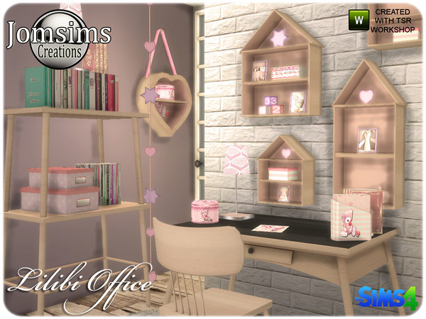 Lilibi office by jomsims at TSR image 327 Sims 4 Updates