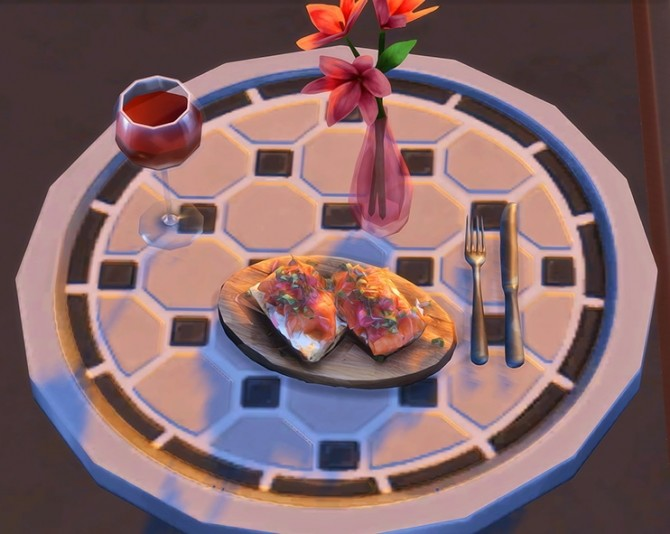 Fancy Meal Clutter at Josie Simblr image 3291 670x534 Sims 4 Updates