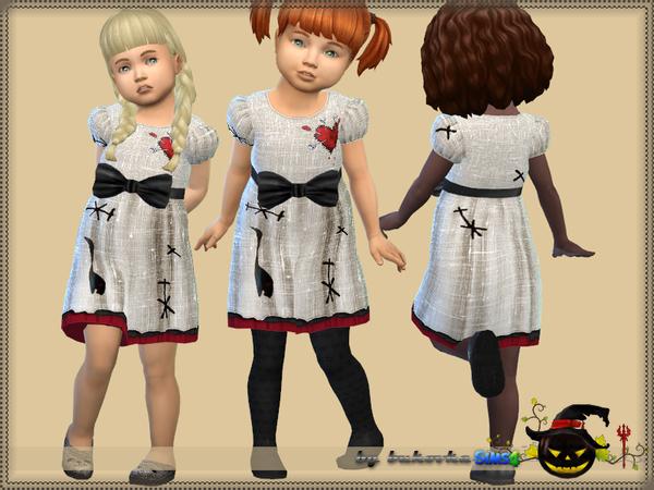 Sims 4 Dress Voodoo Doll by bukovka at TSR