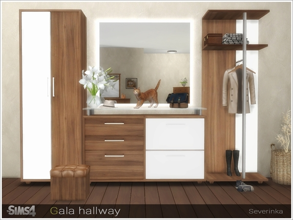 Gala hallway by Severinka at TSR image 3317 Sims 4 Updates