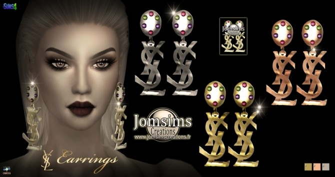 Earrings at Jomsims Creations image 333 670x355 Sims 4 Updates