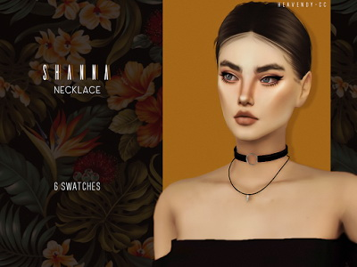 Sims 4 Shanna Necklace by EnriqueSims at Heavendy cc