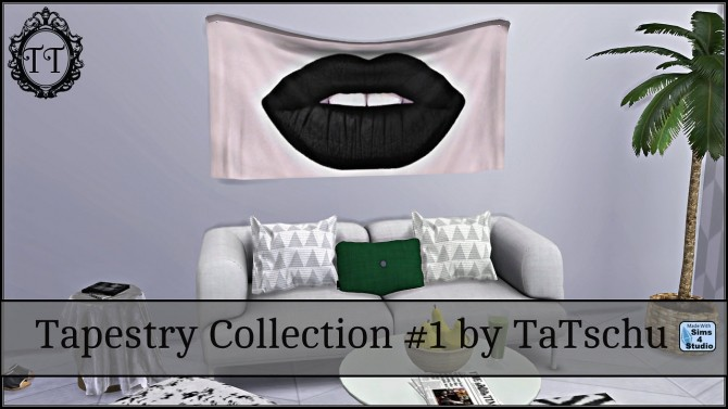 Wall Tapestry Collection #1 at TaTschu`s Sims4 CC image 3424 670x377 Sims 4 Updates