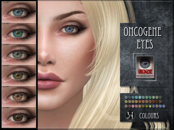 Oncogene Eyes by RemusSirion at TSR image 345 Sims 4 Updates