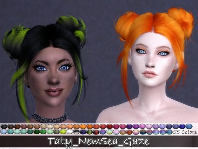 Newsea Gaze hair retexture at Taty – Eámanë Palantír image 3524 670x503 Sims 4 Updates