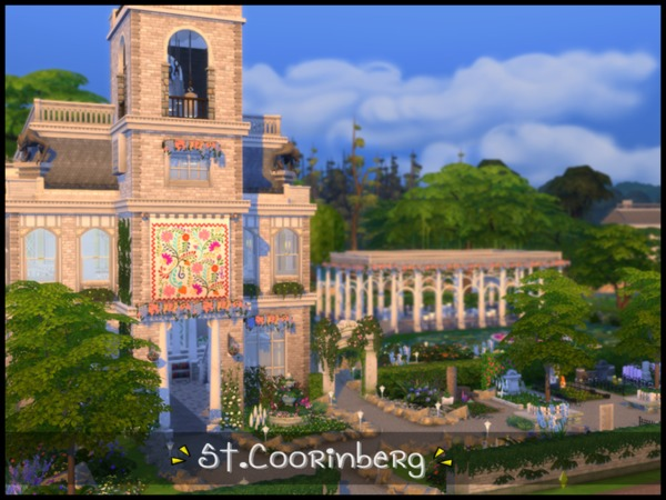St. Coorinberg Church by Terramoon at TSR image 354 Sims 4 Updates