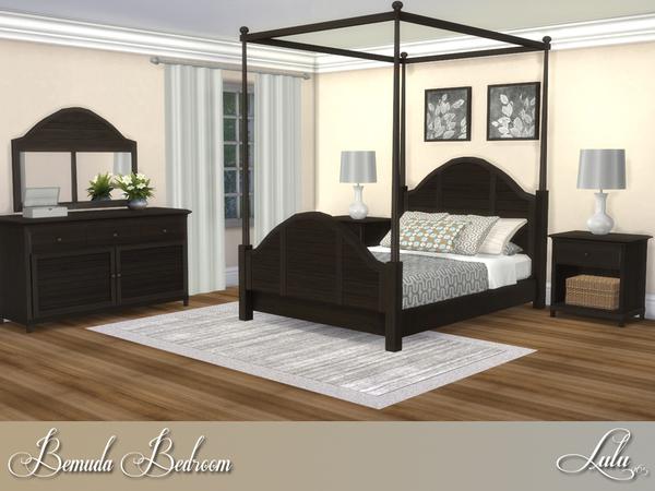 Bemuda Bedroom by Lulu265 at TSR image 355 Sims 4 Updates