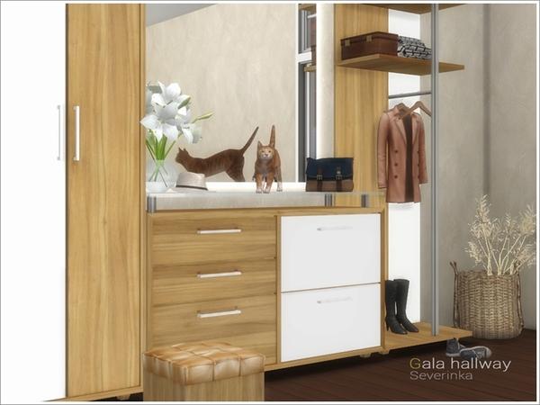 Gala hallway by Severinka at TSR image 3616 Sims 4 Updates