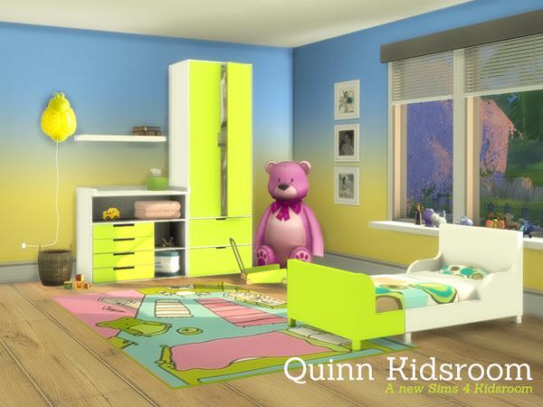 Sims 4 Quinn Kidsroom by Angela at TSR