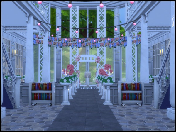 St. Coorinberg Church by Terramoon at TSR image 364 Sims 4 Updates