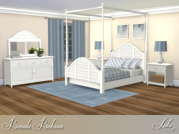 Bemuda Bedroom by Lulu265 at TSR image 365 Sims 4 Updates