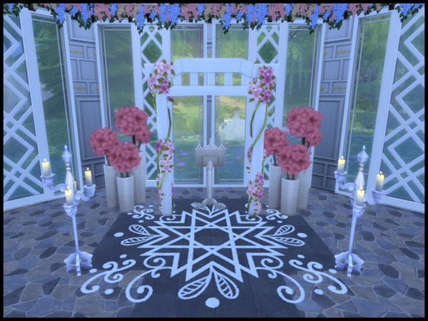 St. Coorinberg Church by Terramoon at TSR image 374 Sims 4 Updates