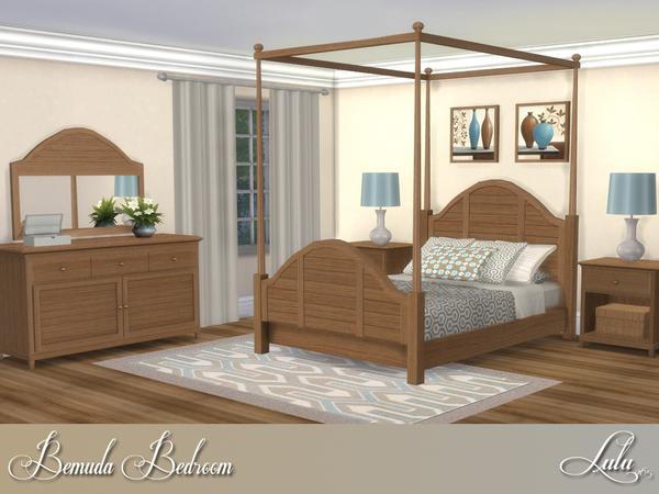 Bemuda Bedroom by Lulu265 at TSR image 375 Sims 4 Updates